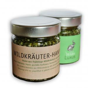 Wildkräuter-Hanf-Pesto